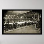 Milwaukee, foto que rueda 2 1905 de los WI Posters