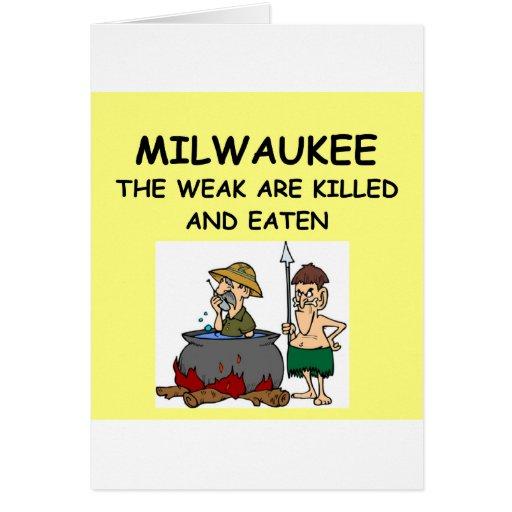 MILWAUKEE GREETING CARD