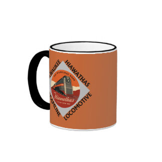 Milwaukee Hiawatha Railroad Ringer Mug