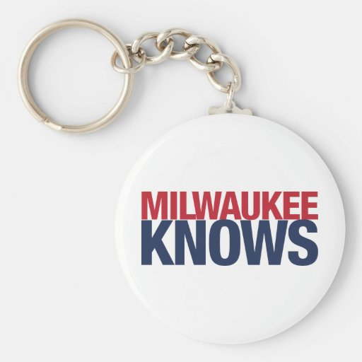 Milwaukee Knows Key Chains