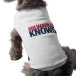 Milwaukee Knows Pet T-shirt