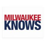 Milwaukee Knows Post Card