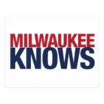 Milwaukee Knows Postcard