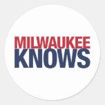 Milwaukee Knows Stickers
