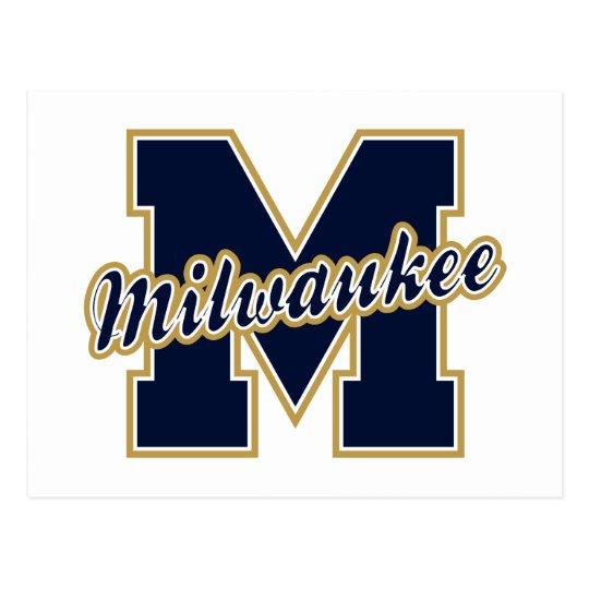 Milwaukee Letter Postcard