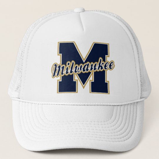 Milwaukee Letter Trucker Hat