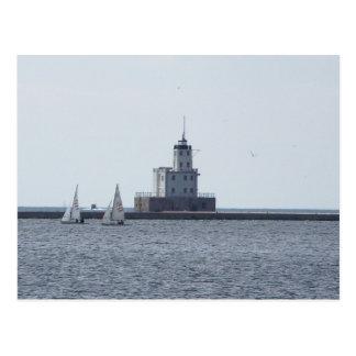Milwaukee Lighthouse Post Card