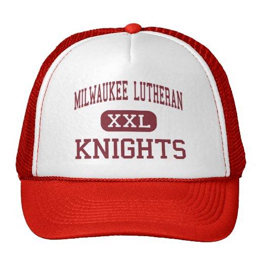 Milwaukee Lutheran - Knights - High - Milwaukee Mesh Hats