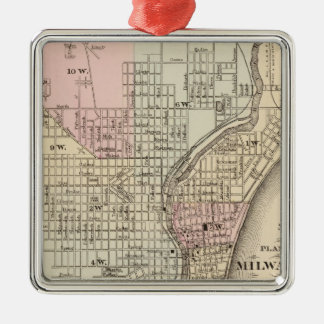 Milwaukee Metal Ornament