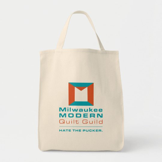 Milwaukee Modern Quilt Guild bag