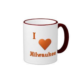 Milwaukee -- Naranja quemado Taza De Dos Colores