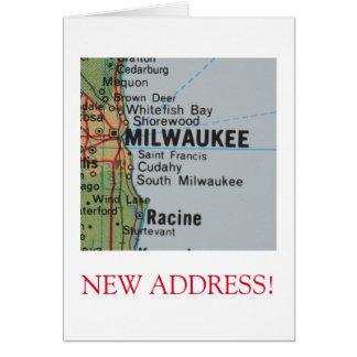 Milwaukee New Address announcement