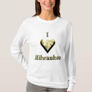 Milwaukee -- Oro brillante Playera