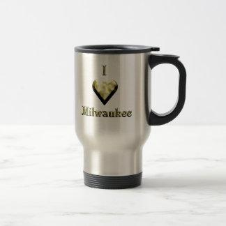 Milwaukee -- Oro brillante Taza Térmica