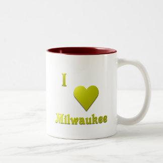 Milwaukee -- Oro Taza De Dos Tonos