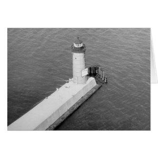Milwaukee Pierhead Lighthouse Greeting Card