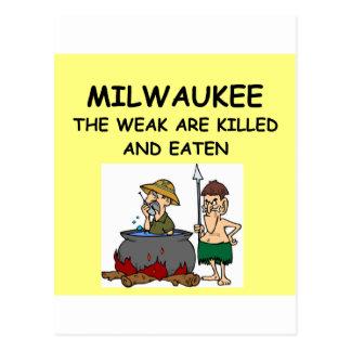 MILWAUKEE POST CARD