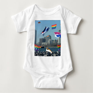 Milwaukee Pride Baby Bodysuit