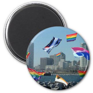 Milwaukee Pride Fridge Magnets