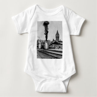 Milwaukee Railroad Milwaukee Station Baby Bodysuit