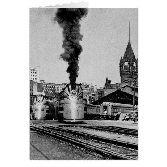 Milwaukee Railroad Milwaukee Station Card
