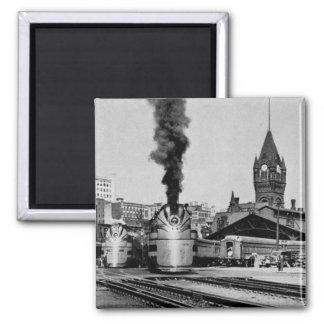Milwaukee Railroad Milwaukee Station Fridge Magnets