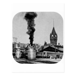 Milwaukee Railroad Milwaukee Station Postcard