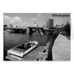 Milwaukee River Greeting Cards