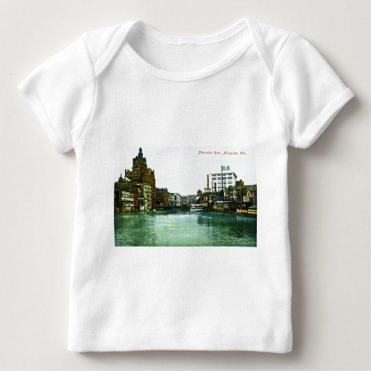 Milwaukee River, Milwaukee, Wisconsin Baby T-Shirt