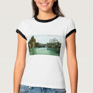 Milwaukee River, Milwaukee, Wisconsin T-Shirt