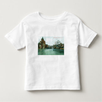 Milwaukee River, Milwaukee, Wisconsin Toddler T-shirt