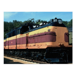 Milwaukee Road Bipolar electric No. E-2, St. Louis Postcard