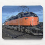 Milwaukee Road boxcab, electric Mouse Pad