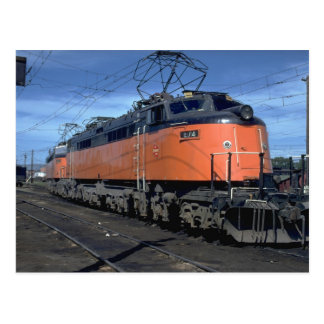 Milwaukee Road boxcab, electric Postcard