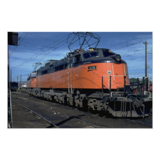 Milwaukee Road boxcab, electric Posters