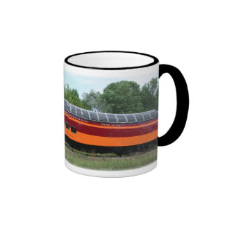 Milwaukee Road Super Dome Ringer Coffee Mug