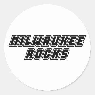 MIlwaukee Rocks Classic Round Sticker