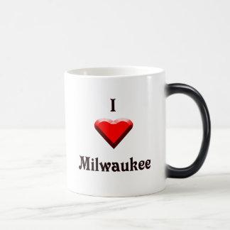 Milwaukee -- Rojo y negro Taza Mágica