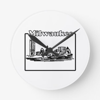 Milwaukee Round Clock
