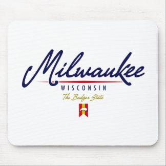 Milwaukee Script Mouse Pad