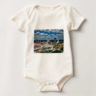 Milwaukee Skyline Baby Bodysuit