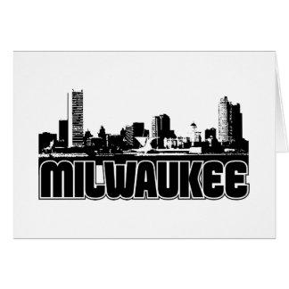 Milwaukee Skyline Card