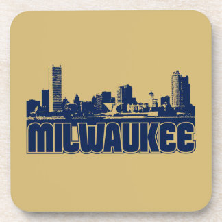 Milwaukee Skyline Drink Coaster
