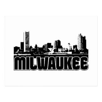 Milwaukee Skyline Post Cards