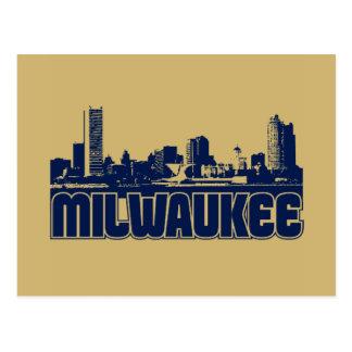 Milwaukee Skyline Postcard