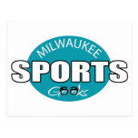 Milwaukee Sports Geeks Postcard