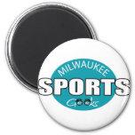 Milwaukee Sports Geeks Refrigerator Magnet