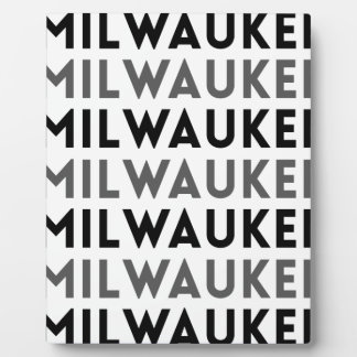 Milwaukee Tile Design Plaque