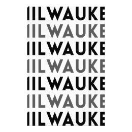 Milwaukee Tile Design Stationery
