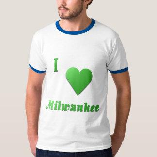 Milwaukee -- Verde de Kelly Playera